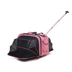Zaino multiuso piegante dei bagagli di animale domestico del cane del sacchetto esterno espansibile del gatto