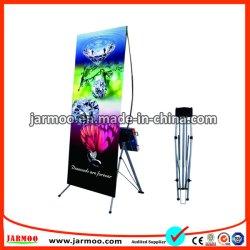 Heißer Verkauf 60*160cm oder 80*180cm X Standplatz-teleskopische Fahne für Bildschirmanzeige und das Bekanntmachen