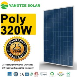 エヴァのフィルムによる最もよい普及した36V 320Wの多太陽電池パネル