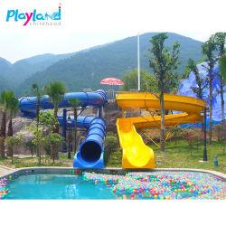 多彩な子供の魅力的なガラス繊維水公園装置水演劇