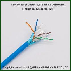 UTP Cat5e FTP CAT6 Contrôle de la communication du signal du réseau de câbles Ethernet Instrument blindé de haut-parleur le câble de données