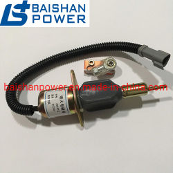 Двигатель Yanmar 77932 119233 - Электромагнитный клапан отключения подачи топлива M810324 1503es-12s5suc12s 1503es-24s5suc12s Вудворд 1751es-12e7UC3b1s1 232c-1115030 4063712