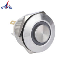 Alimentation électrique 12 V en métal étanche Interrupteur à bouton poussoir de démarrage
