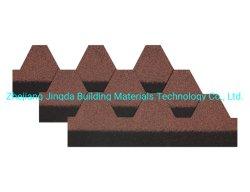 Asphalt schichtet Nigeria-Verkaufsschlager-Mosaik-Baumaterial-Dach-Fliesen