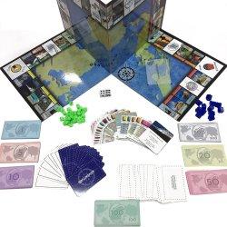 カスタムボードゲームの中国の製造者の高品質グループの板紙表紙のゲーム旅行ゲーム