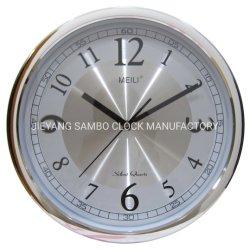 La dirección de inicio de aluminio redondo Reloj de pared de marcación para regalos para empresas