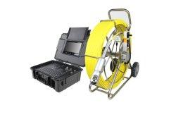 プッシュグラスケーブル付き防水 120m PTZ インスペクションカメラシステム