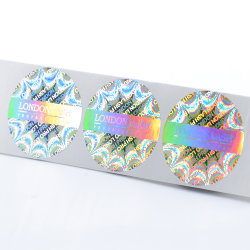 Custom отражением Rainbow голографические наклейки наклейки