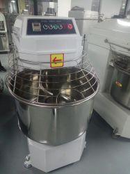 Коммерческие пекарня машины приготовления теста Kneader 50кг муки спираль тесто электродвигателя смешения воздушных потоков