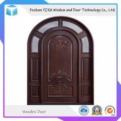 MDF Yika деревянной дверью с Индивидуальным дизайном
