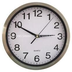 10 polegada 25cm inoxidável alumínio metálico Steell relógios de parede Fabricante