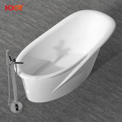 단단한 지상 목욕탕 가구 자유로운 서 있는 목욕 온수 욕조