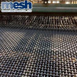 304 ss Tissus à armure toile métallique carré en acier inoxydable serti de Wire Mesh