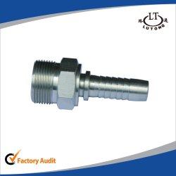 Raccord de flexible hydraulique de haute qualité Swagelok de raccords de tuyauterie en acier au carbone des pièces