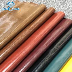 Surface d'huile de 1 mm de PVC imitation cuir artificiel Sac synthétique