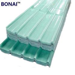 El precio barato de la fábrica de plástico de impermeabilización de cubiertas de invernadero Hoja de Material de cubierta de techos de FRP