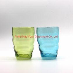 Fabriek 2 PCS Afdrukken van kleurrijke glazen theesapjes waterbekers Instellen