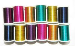 Pintura de artes de seda cor de todos os tipos de fio de ferro pintado