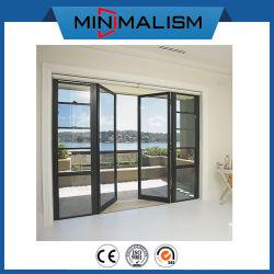 Moderner Entwurfs-Haupttür-Öffnung/Schwingen/Flügelfenster für Handelsverbrauch