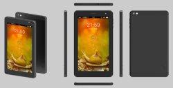 Macchina di ordine/hotel/PC del ridurre in pani schermo 3G/4G 7inch di Iot