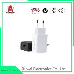 Alta calidad de 5V/1un cargador USB adaptador de corriente de los teléfonos móviles