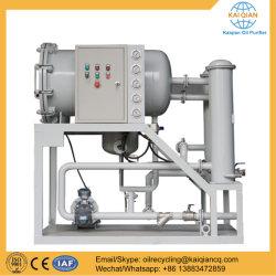 La lumière de filtration de séparateur d'huile de la machine pour le recyclage de l'huile carburant encrassé