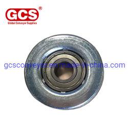 Шарик корпуса Gcs-Bearing передача единиц, сталь, самоустанавливающихся колес/обработки материала детали конвейер роликовый, передачи роликового подшипника торцевой крышки