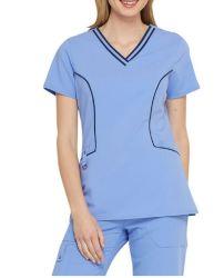 Body Scrubs Uniforms di modo dell'ospedale di professione d'infermiera della signora medica personalizzata