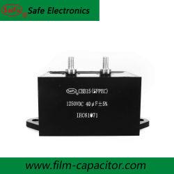 المكون الإلكتروني CBB15 CBB16 40UF 1250VDC المكثف لماكينة اللحام