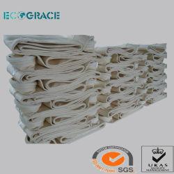 Filtro de poeiras industriais Nomex fibra de aramida tecido de malha de filtragem de PTFE