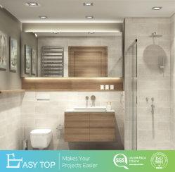 Hotel Projecto Dissipador único utilizado banheiro vaidade MDF em madeira de melamina armário de banheiro