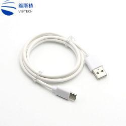 Micro- Kabel 1.5m van usb- Gegevens de Androïde V8 Draad van de Lader voor de Mobiele Telefoon van de Melkweg van Samsung S7