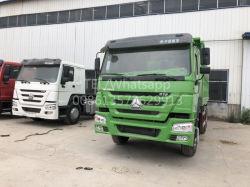 China utiliza buena Sinotruk HOWO Utilizado Heavy Duty volquete camión volquete 371HP 375HP Modelo 2015