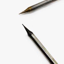 2 van het Micro- van fluiten de Molens van het Eind Carbide van de Diameter/het Snijden Hulpmiddelen
