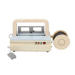 Desktype électrique automatique machine de conditionnement de baguage (ZD-08)
