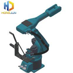Hongjun 6 ejes del robot de soldadura industrial