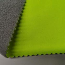 Prenda de un lado el tejido de poliéster 100D de tela de forro polar