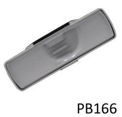 De plástico transparente de caixa de caneta para caneta promocional ou um lápis