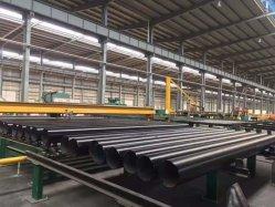 よい価格のガスのための継ぎ目が無い熱間圧延の黒い炭素鋼の構造の管およびオイルおよび水