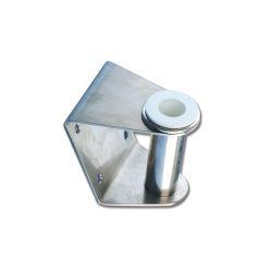 Feuille de support personnalisé de formage du métal galvanisé recouvert de poudre noire