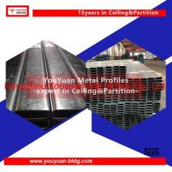 Heißes eingetauchtes galvanisiertes StahlUd erstellt Kanal-Decke und Aufhebung ein Profil