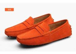 Mens Loafer calçados de couro Casual sapatos de camurça, Loafer calçados masculinos