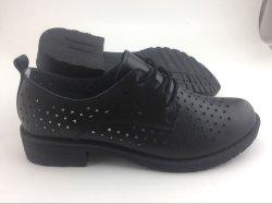 Späteste lederne Schuhe der Entwurfs-Form-Dame-beiläufige Schuhe (FW-4)