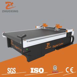 セリウムのチーナンの工場安い価格の振動のナイフの打抜き機の振動を用いる均一スーツCNCデジタルの打抜き機の最もよい自動織物の切断システム