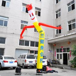 Настраиваемые хорошего качества надувных Sky Dancer трубы мужчина с воздуха танцовщица вентилятора