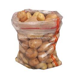 L'emballage PP tissés en plastique transparent sac de pommes de terre Riz