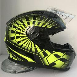 2019 nuevo estilo del casco de motocicleta con la certificación de la CEPE