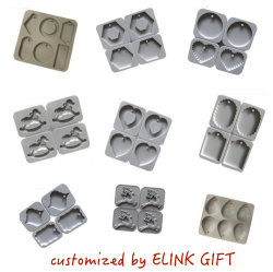 Diseño de un surtido de velas molde de silicona