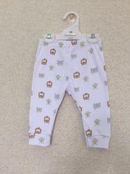 100%는 면 아기 Legging 아기 바지 아기 착용을 빗질했다