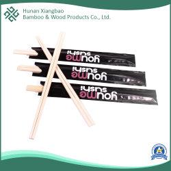 Personnalisé Papier de Baguettes en Bambou Wraped 3/4 pour les aliments livrés